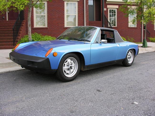 1976 Porsche 914 Anacona Blue Collector Quality For Sale
