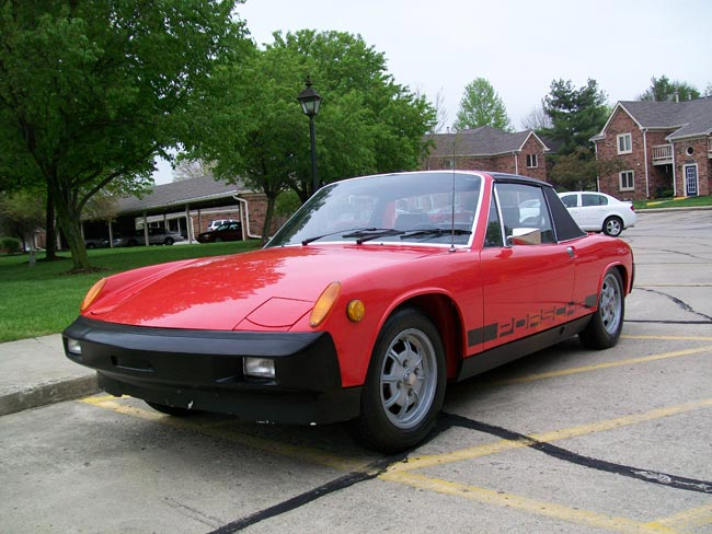 1975 porsche 914 value