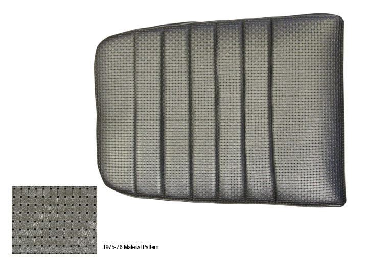 914 1975-76 LEFT/RIGHT CUSHION RE-COVER KIT